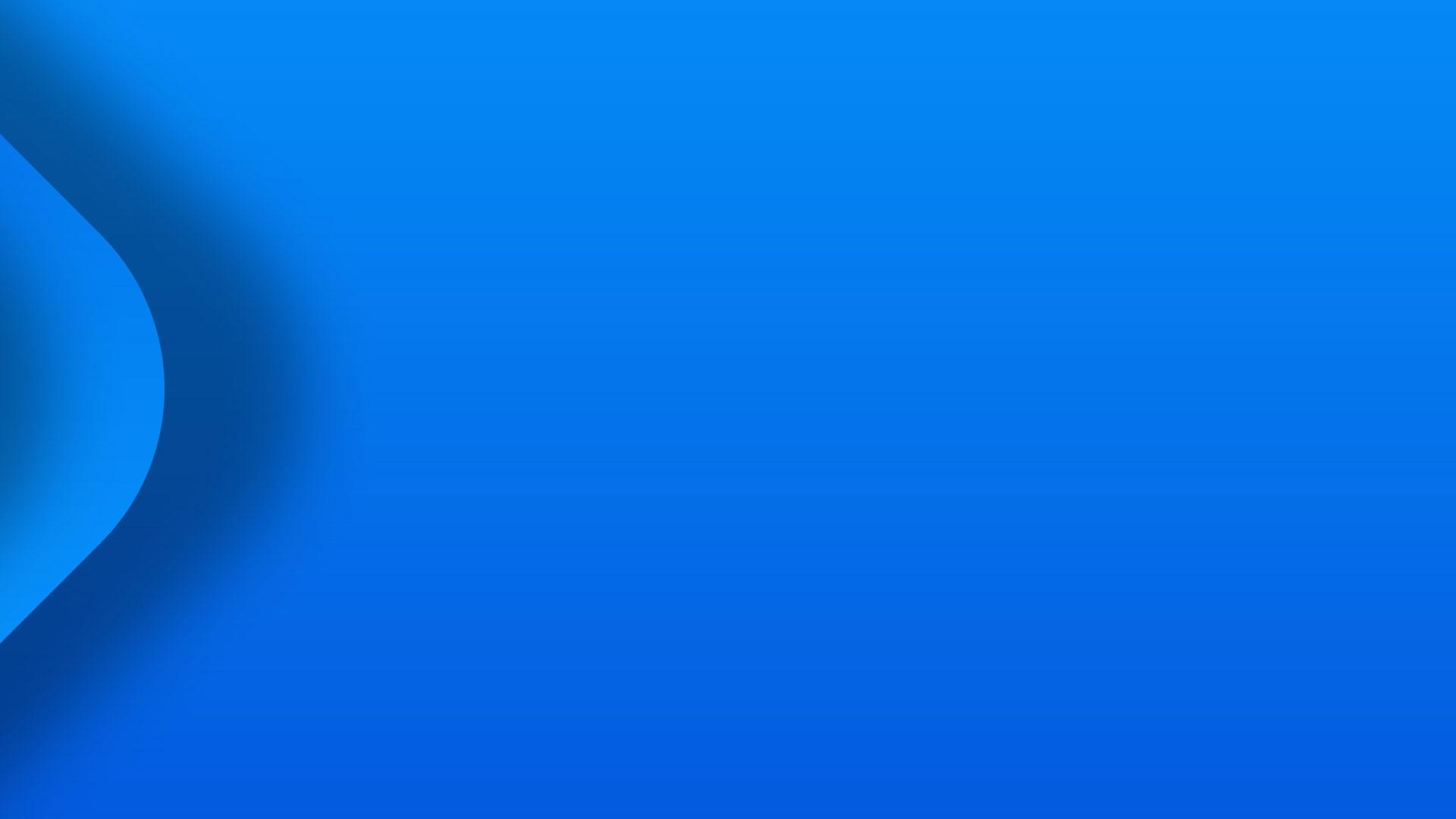Ein blauer Hintergrund mit Verlauf