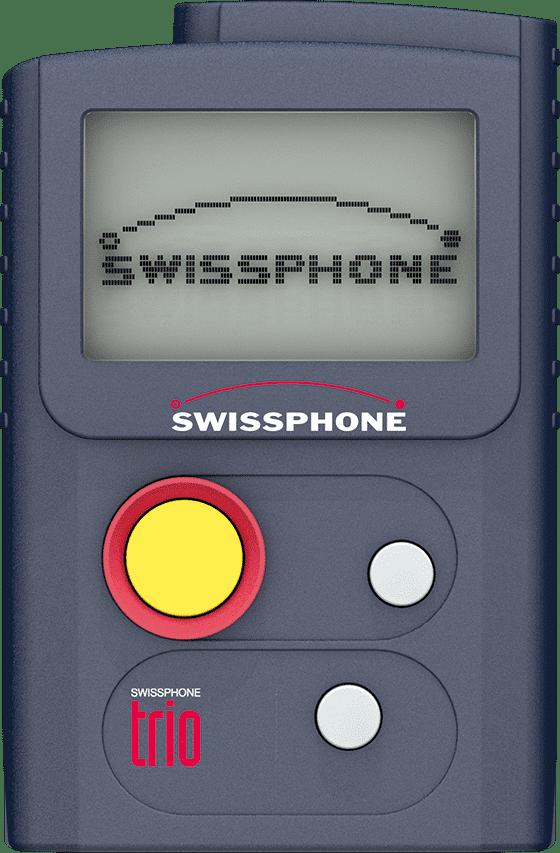 Swissphone Trio Alleinarbeiterschutz